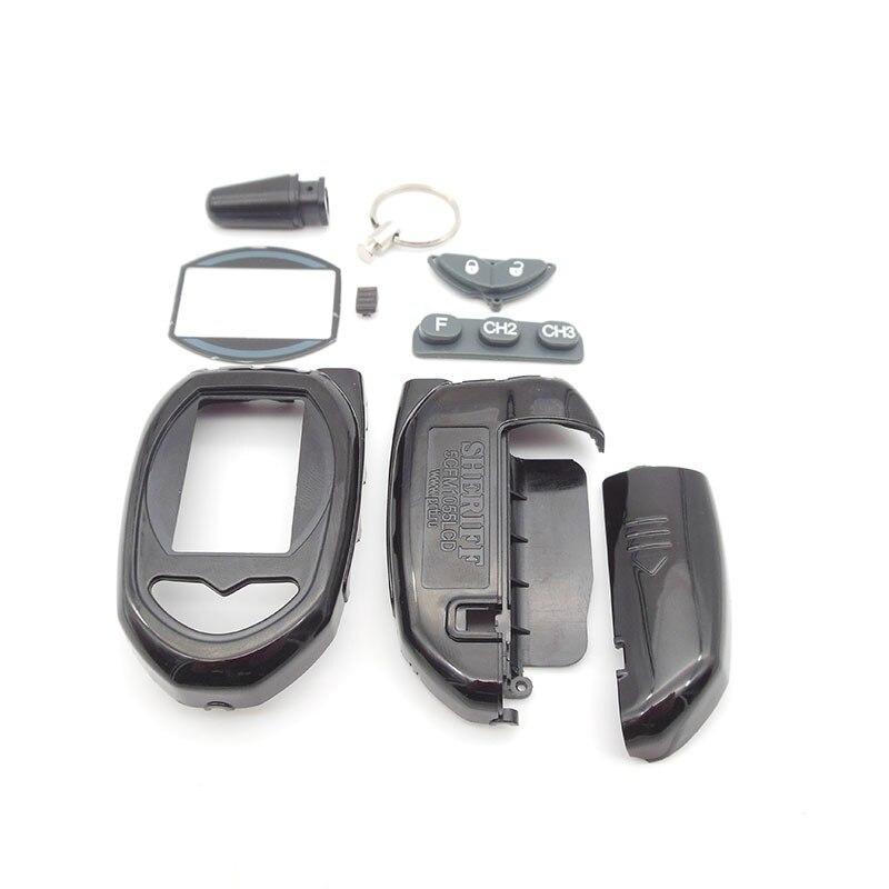 Русская версия ZX-1055 чехол Брелок для Sheriff ZX1055 ЖК-дисплей Автомобильный пульт двухсторонняя Автомобильная сигнализация