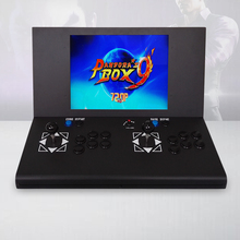 22 inch LCD Desk Arcade Game Machine with 645 in 1 game board/2 player/chrome edge/Stereo Speakers/Amplifier/Horizontal display 22 inch lcd desk arcade game machine with 645 in 1 game board 2 player stereo speakers amplifier horizontal display