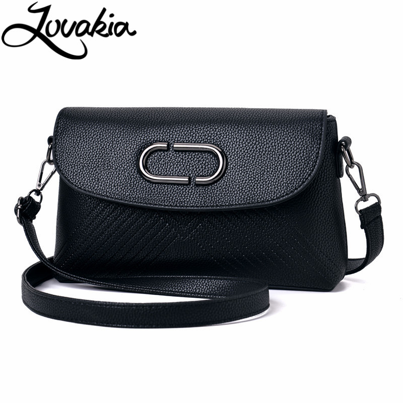 Women Handbag Leather Solid Messenger Bags Sac a Main Shoulder Bags Women Crossbody Bag Ladies Designer High Quality Handbags 2018 floral luxury handbags women bag designer pu leather bag women messenger bags small chain crossbody shoulder bag sac a main