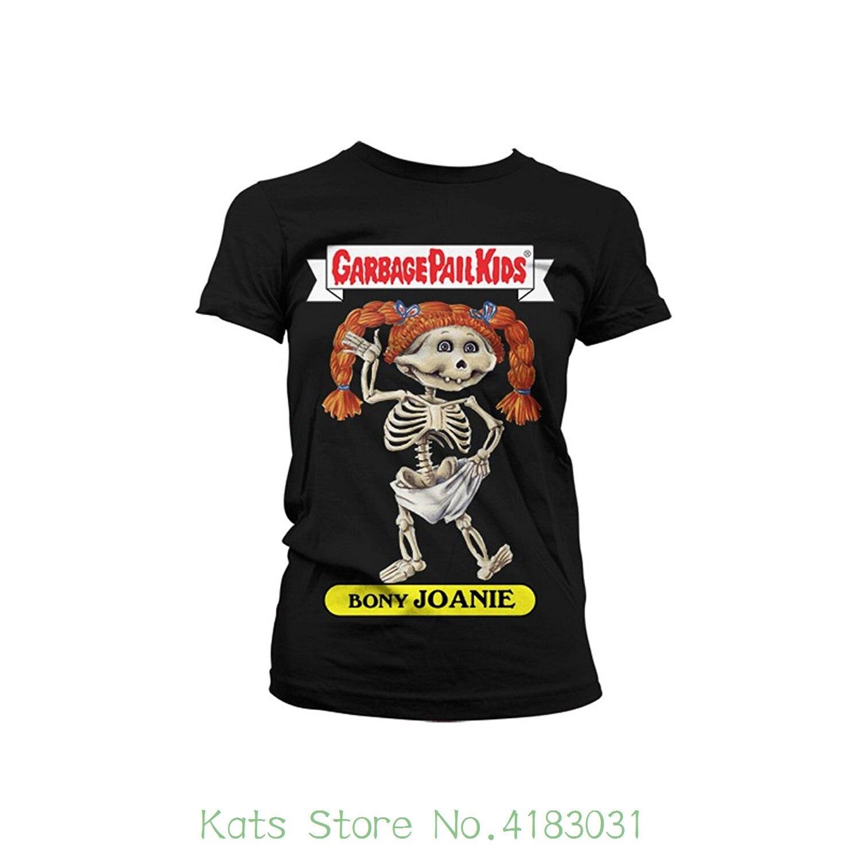 Officially Licensed Merchandise Bony Joanie Girly T-shirt Round Collar Short Sleeve Tee Shirts
