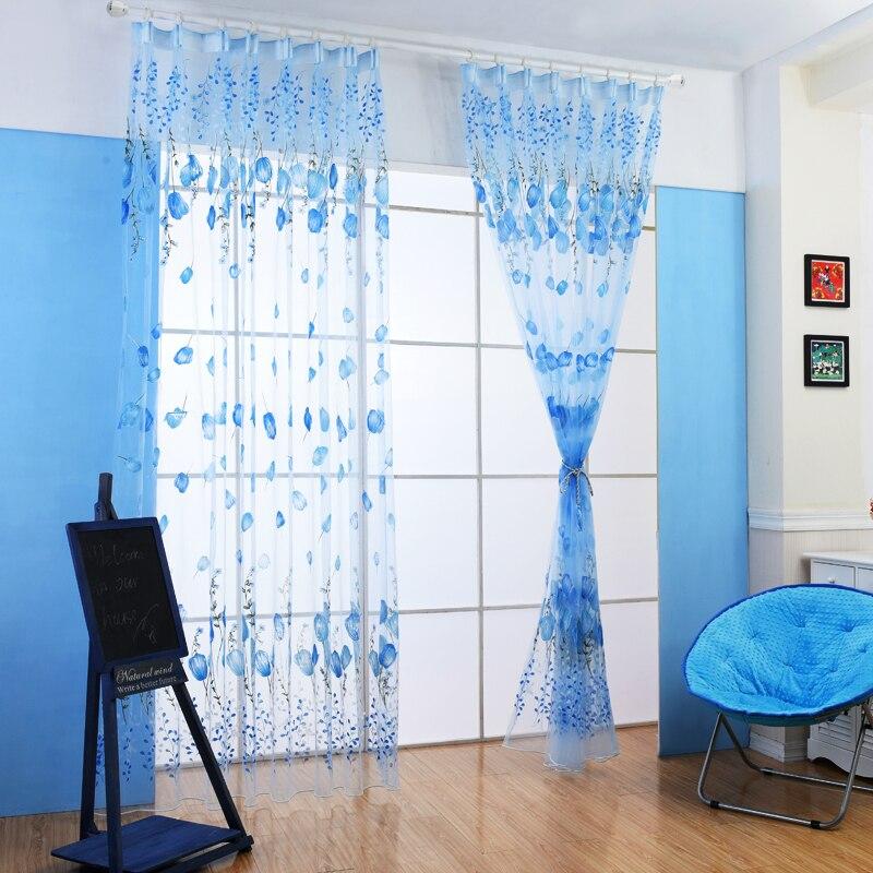 Modern Window Curtain With Flower Design: Aliexpress.com : Buy Fashion Design Modern Kitchen Window