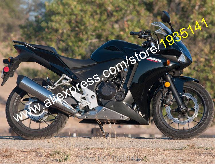 Горячие продаж,обвес для Honda ЦБ РФ CBR500R 2013 2014 500 р 14 Р 13 CBR500 Черное послепродажного мотоциклов Обтекателя (литья под давлением)