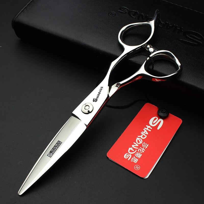 Sharonds 6 17 см японские профессиональные текстура волос Ножницы личности 440C Профессиональные волос cuttting Ножницы инструменты