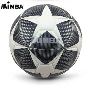 New Brand MINSA High Quality A+++ Standard Soccer Ball PU Soccer Ball Training Balls Football Official Size 5 and Size 4 bal - Category 🛒 Sports & Entertainment