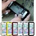 Ip68 à prova d' água 100% armadura de metal de alumínio hard case para iphone 5 5S SE 6 6 s 7 Plus Underwater 3 M Mergulho Capa À Prova de Choque casos