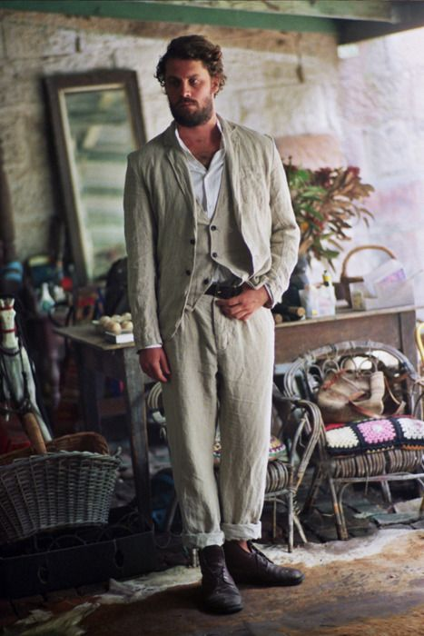 Latest Coat Pant Designs Ivory Linen Beach Wedding Suits For Men Suit Jacket Slim Fit Tuxedo 3 Piece Groom Custom Blazer Terno