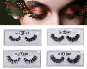 d3f7aad3fc3 Mink Eyelashes 3D Mink Lashes Thick HandMade Strip Lashes Cruelty