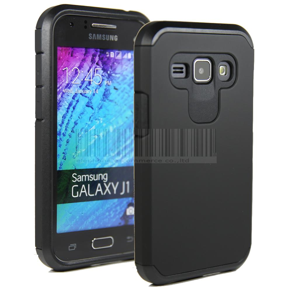 Rugged Hybrid Armor Case Heavy Duty Impact Protective Hard Cover For Samsung Galaxy J1 J100 <font><b>J100H</b></font> J100F image