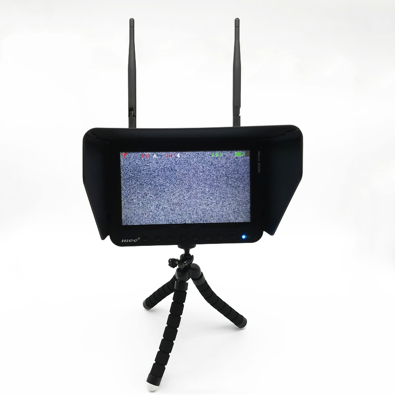 40CH 5.8G 7 Inch FPV Monitor Resolution 800x480 Port With DVR Build in Battery For FPV Multicopter or QAV250 Racing Drone