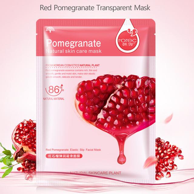 Vegetables and Fruits Moisturizing Face Mask Sheets 10 pcs Set