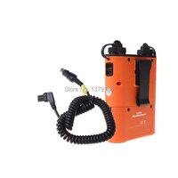 Godox pb960 플래시 전원 배터리 팩 nikon speedlite 용 오렌지 4500 mah + 전원 케이블 nx