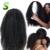 Llena Del Cordón Pelucas de Pelo Humano Para Las Mujeres Negras Rizado Rizado Malasio Peluca de pelo Afro Rizado Rizado Peluca Delantera Del Cordón Rizado Del Pelo Humano pelucas
