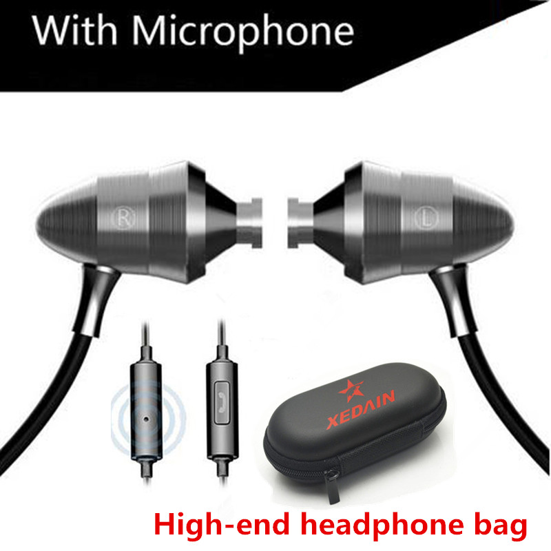 Headsets DJ Earphones Universal 3.5MM XEDAIN Good X8 Super Bass fone de ouvido Professional Earphone Monitoring auriculares HIFI