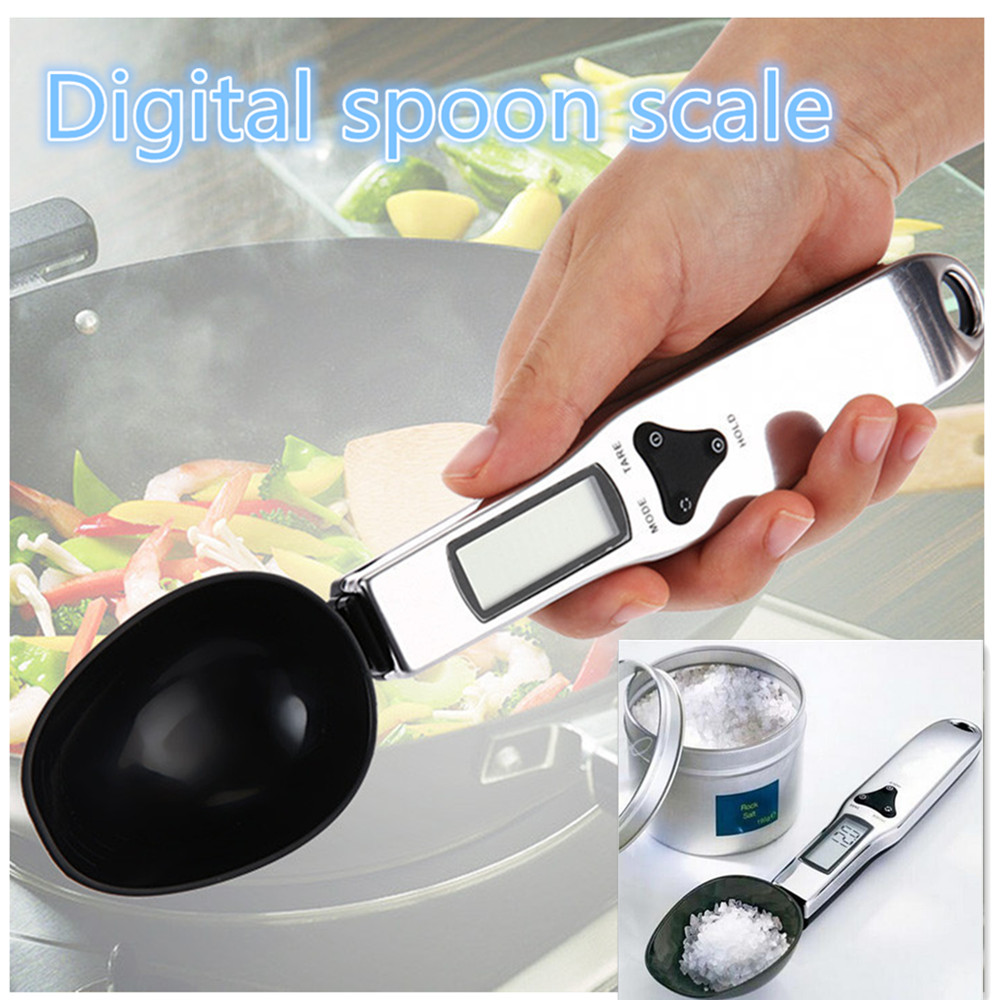 300/0.1g digital spoon scale Electronic Digital Spoon Scale Kitchen Electronic S