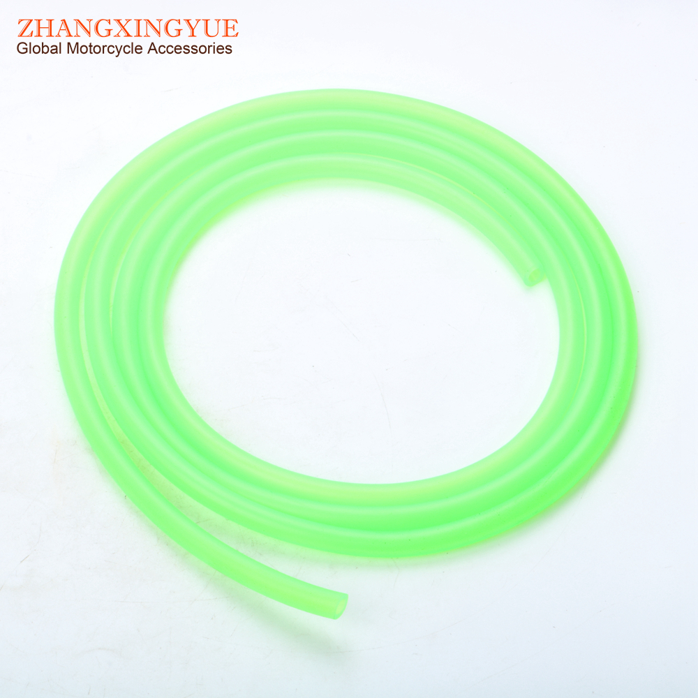Carburetor Carb Line Hose tube Tubing 5mm x 8mm 2M Long Green for Scooter ATV Kart Motocross