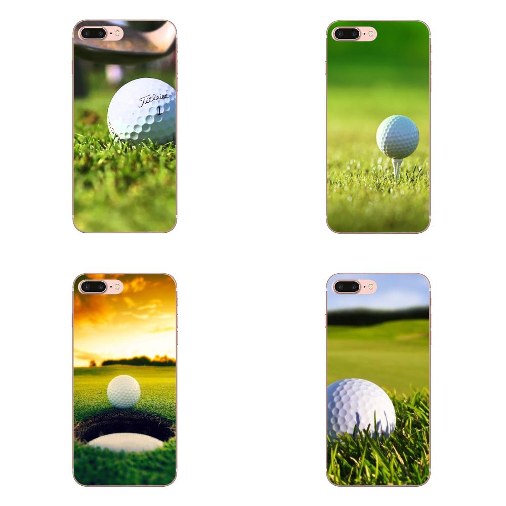 For Apple Iphone X Xs Max Xr 4 4s 5 5c 5s Se 6 6s 7 8 Plus Tpu Case Cover Golf Ball Course Diy Half Wrapped Cases Aliexpress