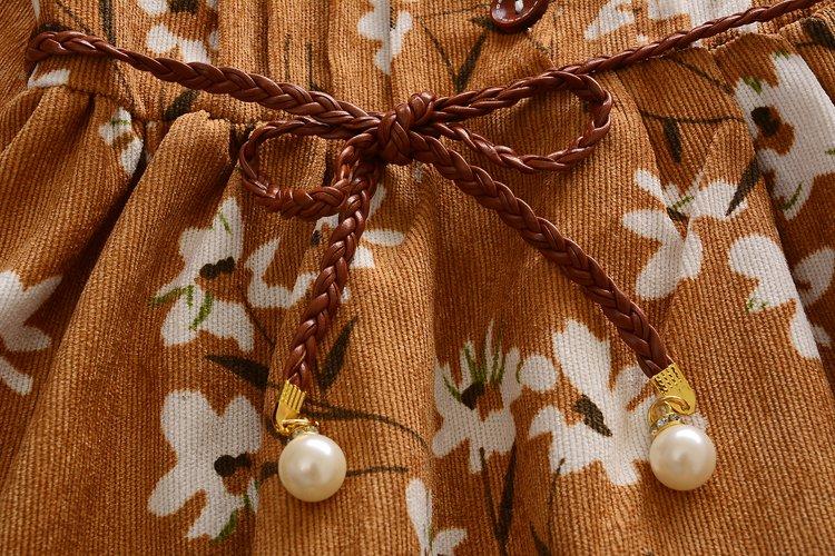 Nowa wiosenna sukienki dla dziewczynek Sukienka dla dzieci Urocza - Ubrania dziecięce - Zdjęcie 5