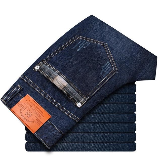 Новое поступление весна лето тонкие прямые джинсы Большой размер 28 - 38 свободного покроя длинные брюки брюки марка топ джинсы