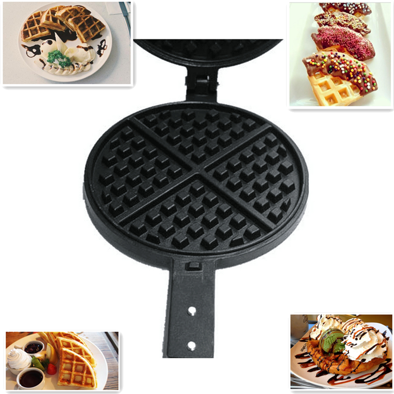 Non-Stick Surface Replacement Waffle Maker Waffle Iron Grill Mold Plate For Home DIY Waffle Breakfast Machine trendy non stick diy ornament