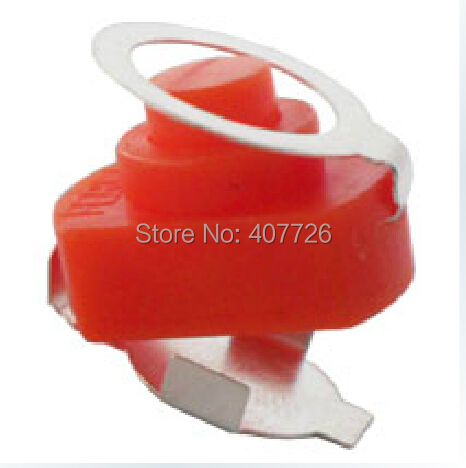 50pcs/lot DC Power push button switch 1A 30V Super flashlight electric torch ON - OFF Latching self-locking