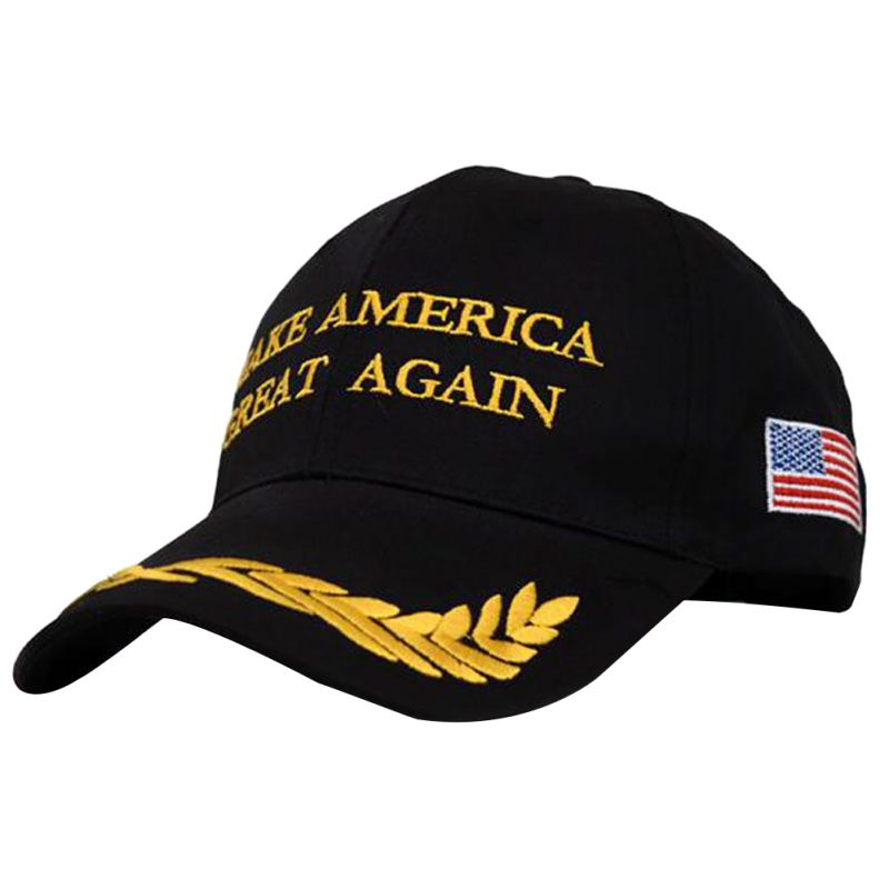 Make America Great Again Letters Printed Hat Olive Branch Embroidery Peace Hat Baseball Cap 2 Colors