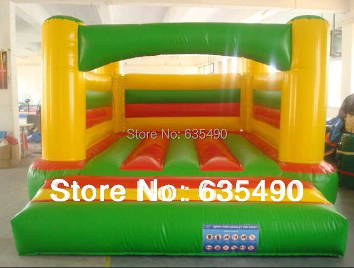 PVC 5x3.5m Factory direct selling inflatable castle, iflatable slide ,inflatable trampoline factory direct inflatable trampoline inflatable castle inflatable slide obstacle yly 0177