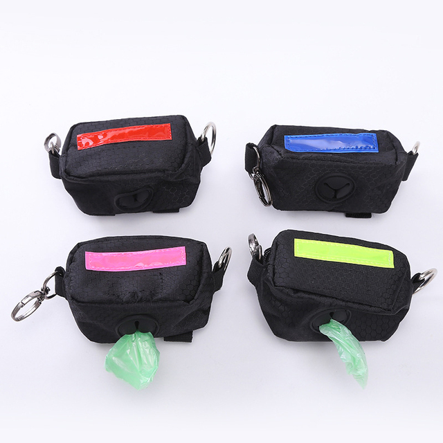 Universal Puppy Cat Dog Bag Holder Pouch Dispenser Pet Scoop Waste Clean Up