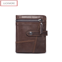 Genuine Leather Man Wallet Male Top Quality Purse Multifunction Men Wallets 100 Cowhide Famous Brand Short