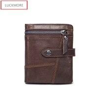 Genuine Leather Man Wallet Male Top Quality Purse Multifunction Men Wallets 100 Cowhide Famous Brand Short