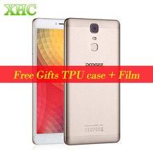 DOOGEE Y6 Max 4G LTE Fingerabdruck Smartphone 6,5 zoll 1920*1080 RAM 3G ROM 32G Android 6.0 MTK6750T octa-core 13MP Handy