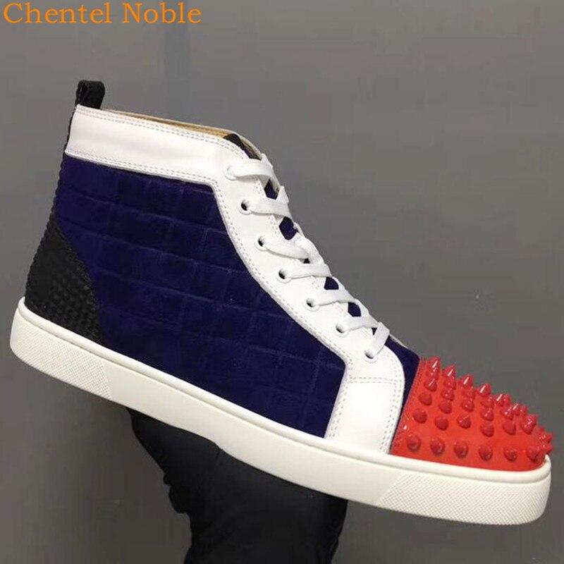 Picture Chentel Cuir Hombre Pour Daim Plein Hommes Rivet Loisirs Mélangée Noble Air Luxe Zapatos As De Chaussures Marche Couleur Nouveau En txdBosQrCh