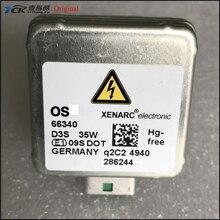 1 шт YCK оригинальный D3S лампа 35 W 5500 K Ксеноновые налобный фонарь 66340 66340HBI (натуральная и используется) собран в Германии