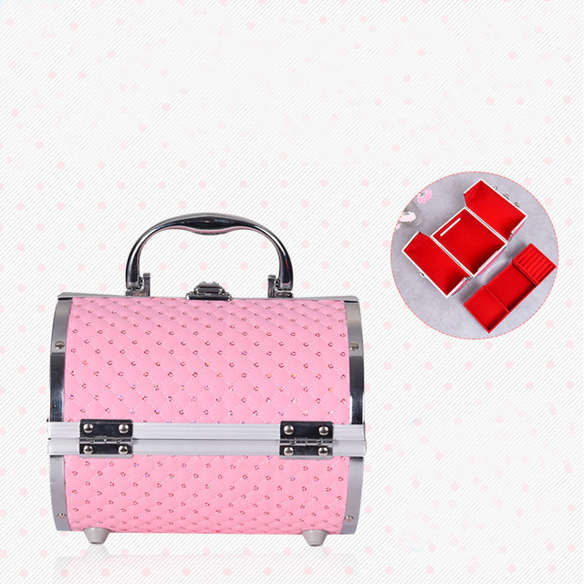 2019 Pillow design Aluminium alloy Make up Box