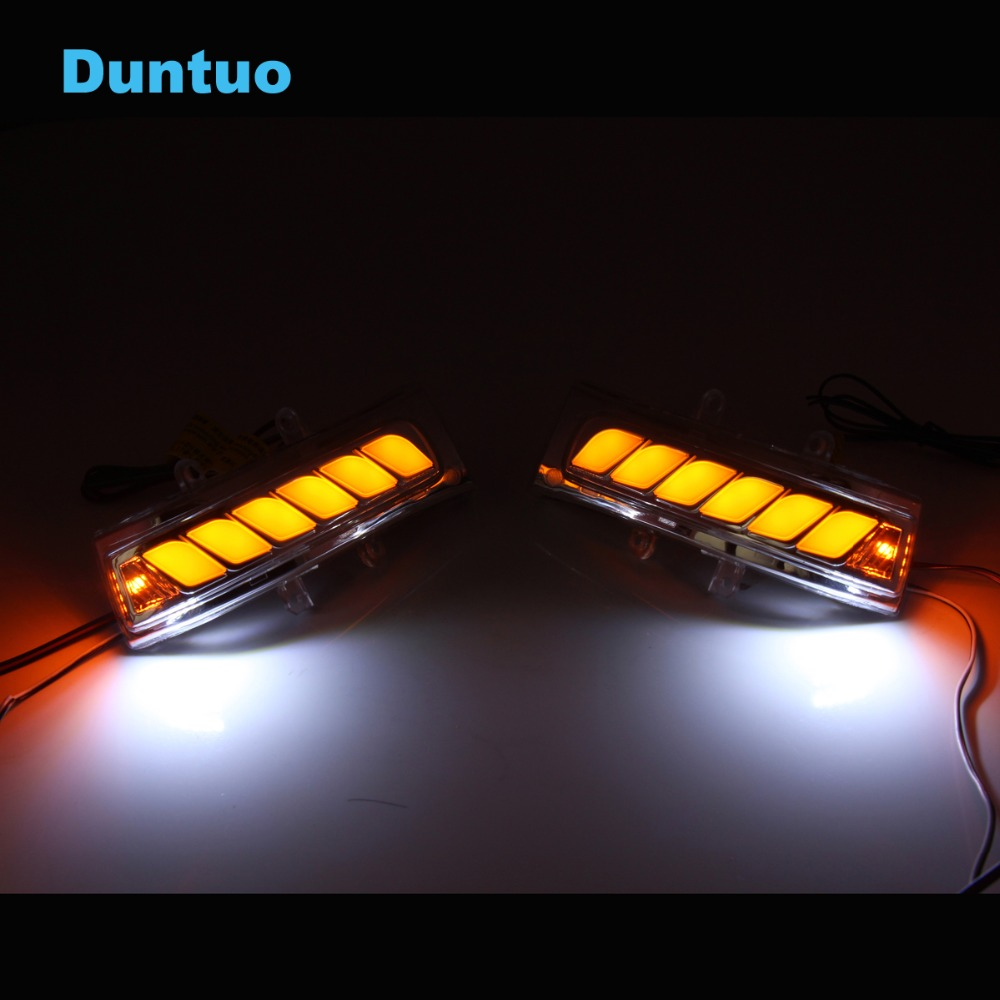 Flowing Turn Signal Lamp Mirror Running Light For Toyota VOXY RAV4 Highlander Estima Alphard NOAH Previa VELLFIRE 20 Fortuner for toyota highlander e z prius alphard crown camr rei corolla prodo land cruise previa daytime running light