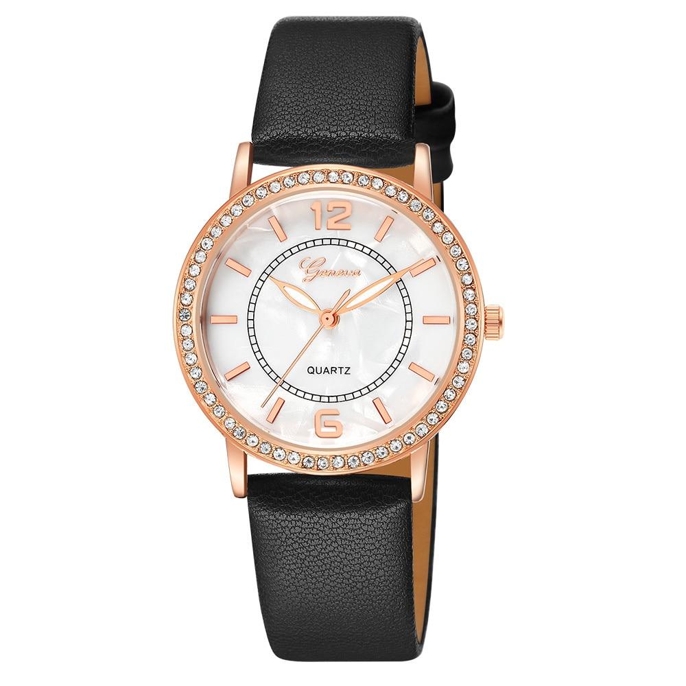 Fashion Ladies Women's Casual Quartz Stainless Steel Watches Analog Wrist Watch Women Watches Top Brand Luxury Male Clock Gift