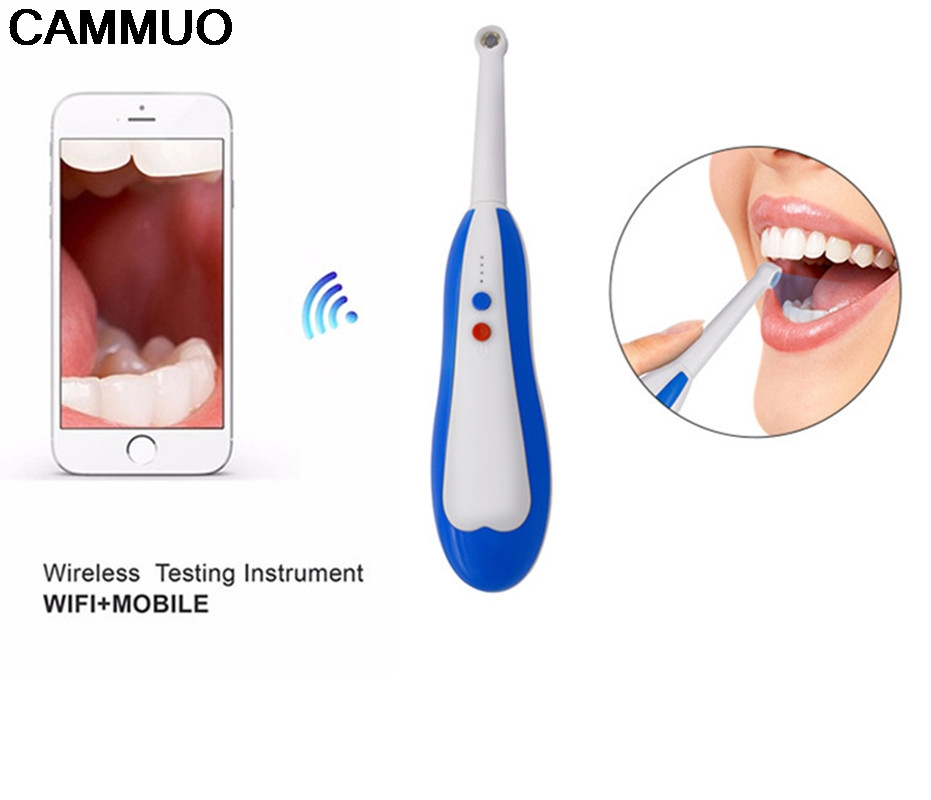 Oral Dental Wireless Wifi Intraoral Camera Endoscope Borescope Led Light USB Camera Teeth Photo Shoot Dentist Intra Oral Camera good quality oral dental intraoral camera 6 led light usb interface camera endoscope teeth photo shoot dentist intra oral camera