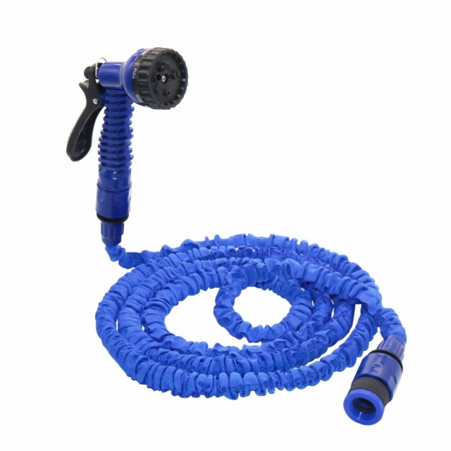25-75FT Magic Flexible Hose For Garden Car Expandable Garden Hose irrigation 7 in 1 Spray Gun Quick Connector