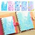 Accesorios Notebook Planner Colorido Mundo Divisores Índice página Marcar Placa 5 hojas/Set Partido Filofax Papelería Regalo Lindo