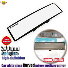 Car-Interior-Mirror Auto-Accessories Safety 270mm Driving Clip-On Universal Wide-Angle