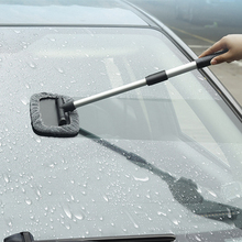 Cleaning brush Car front windshield retractable  car window defogging cleaning brush недорого