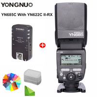 YONGNUO YN685 YN 685 (YN 568EX II Upgraded) Wireless HSS TTL Speedlite Flash with YN622C YN622II C YN622C TX YN560IV Speed Light