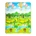 180*150cm Play Mat Forest River Cartoon Baby Play Mat Tapete Bebe Crawling Mat Soft Floor Pad Game Pad Picnic Carpet