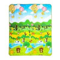 Kinderen Mat Kleed Forest River Cartoon Baby Speelkleed Tapete kruipen Mat Zachte Vloer Game Pad Picknick Tapijt Speelgoed Voor kinderen
