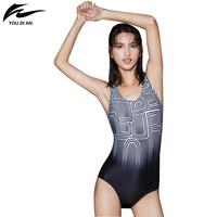 One Piece Swimsuit 2016 Swimming Pool Swimsuit Sport Women Swimwear Spandex Polyester Bathing Suit M L XL XXL