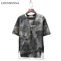 2018 New Summer Fashion T Shirt Men New Style Design Print O Neck Short Sleeve Men