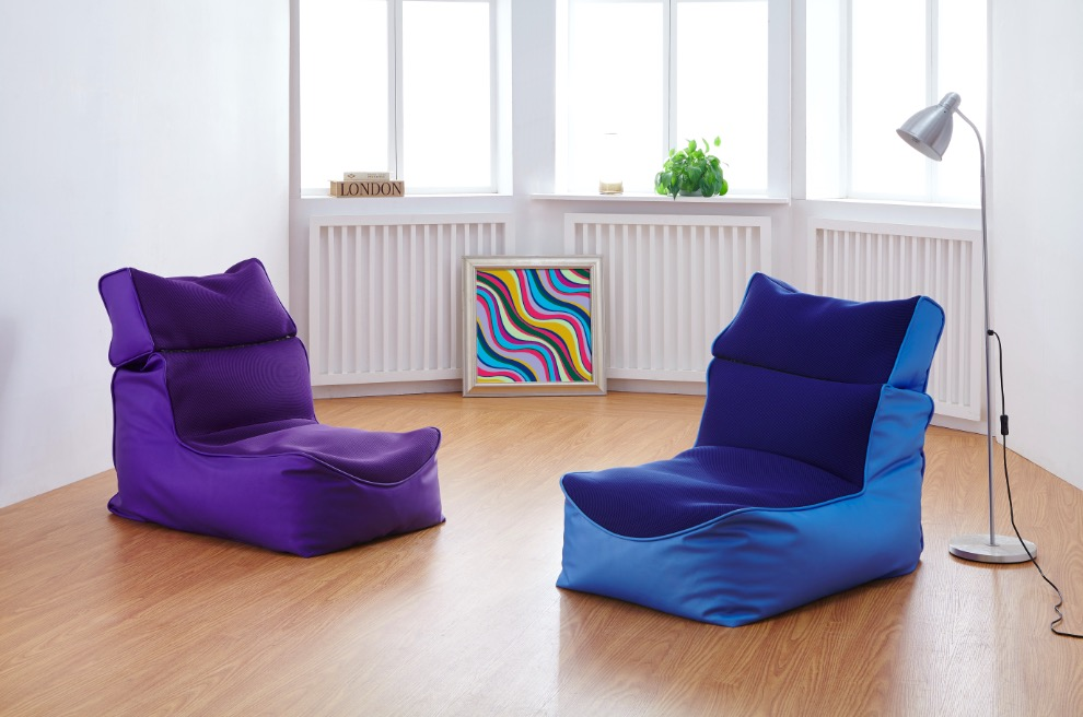 Buy modern bean bag sofa living room - How to decorate living room with bean bags ...