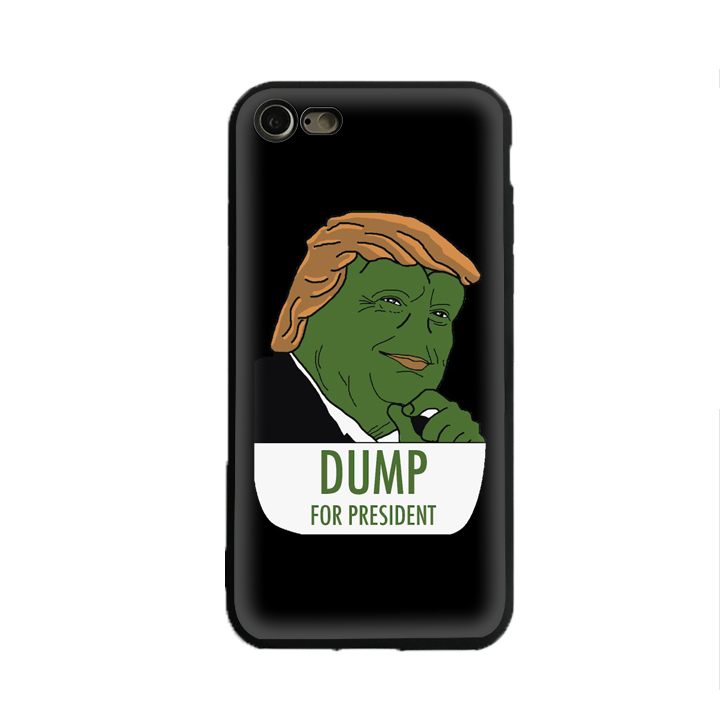 President Donald Pepe Trump the Smug Frog 4 iphone case