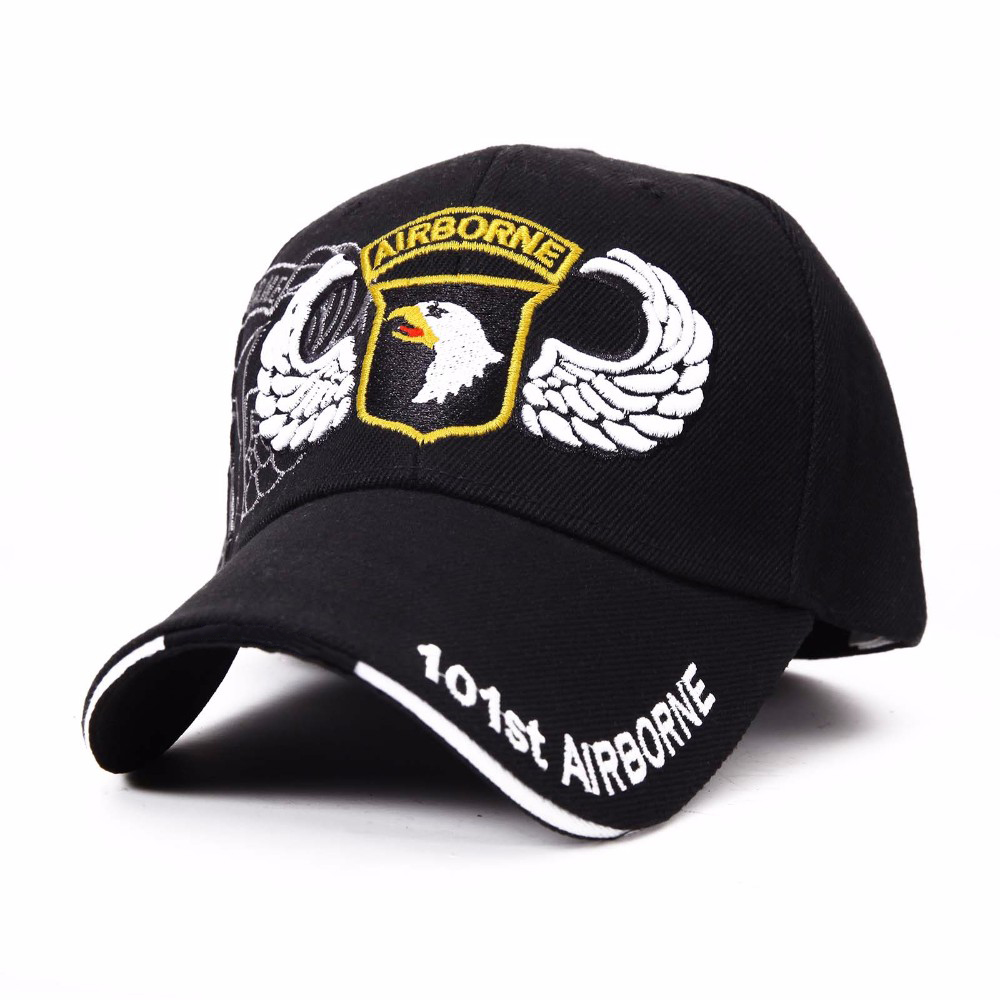 2016 Hot 101st Airborne Eagle Baseball Caps US Navy Hat for Men Women Bone  Gorras Tactical Army Casquette tourism Hats-in Baseball Caps from Apparel  ... f2ff63758fc