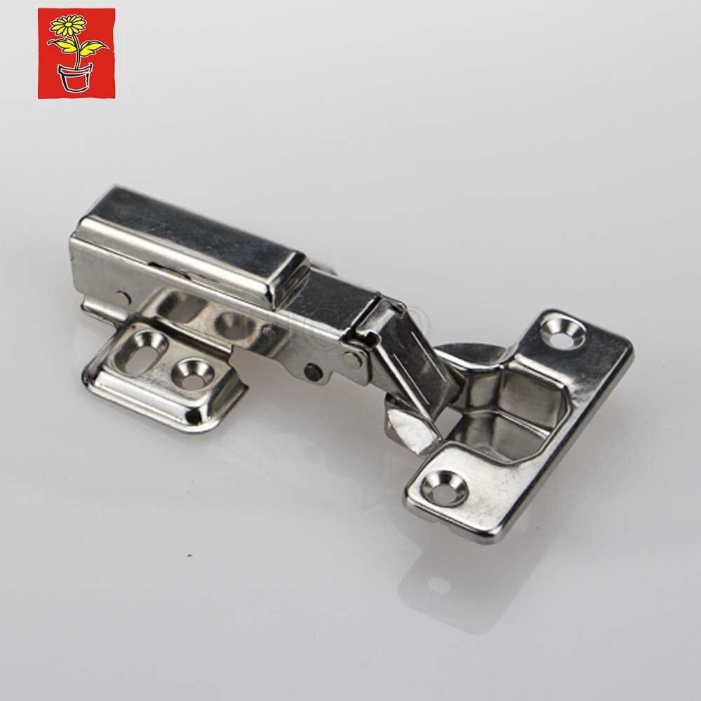 10 pz sovrapposizione completa mobili cerniera in acciaio inox 304 cerniera per mobili nascondere cerniera regolabile
