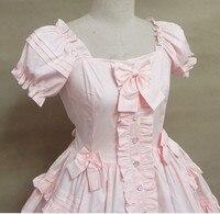 Сарафан Лолита милый костюм Лолита Алиса красивый бант милый Принт Лолита разноцветные